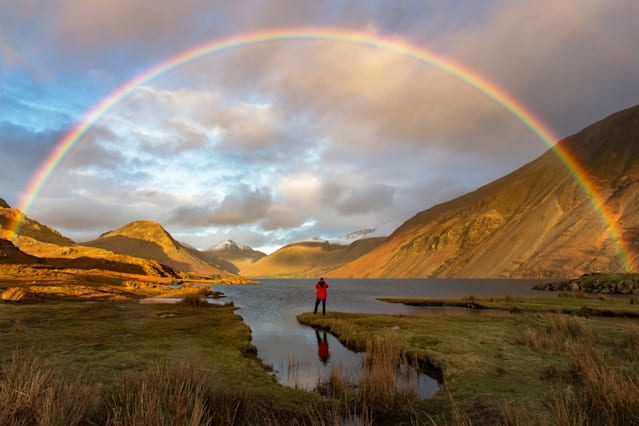 The GREAT Britain #OMGB Award - Winner: Mark Gilligan - Finding Gold, Wast Water, Cumbria