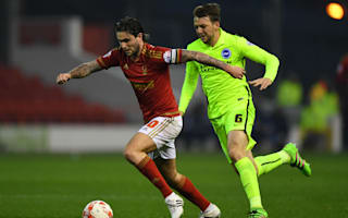 Nottingham Forest 1 Brighton and Hove Albion 2: Sidwell snatches vital late winner