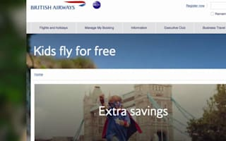 Kids fly for free with British Airways