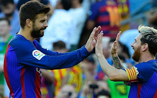 Messi and Pique ready to feature for Barca at Celtic