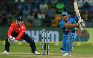 Dhoni scores first T20 fifty before England collapse gifts India the series