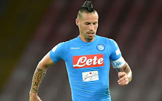 Hamsik remaining grounded after passing Maradona
