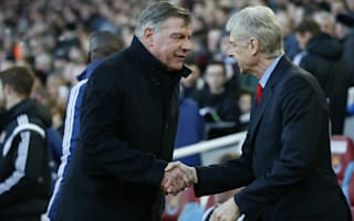 Wenger wishes luck to old foe Allardyce