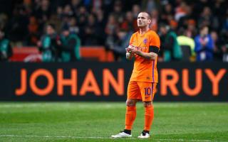 Sneijder blames tension for hamstring injury