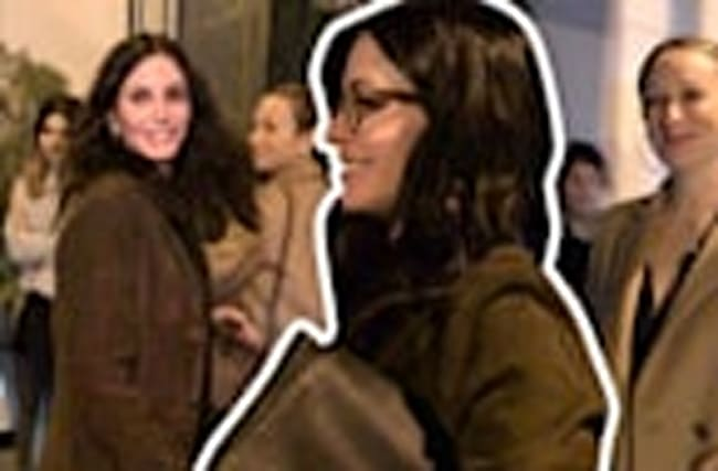 Courtney Cox and Jennifer Meyer: Girls Night Out!