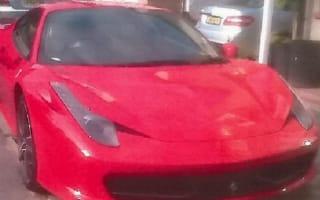Bent cop rumbled after buying £170,000 Ferrari