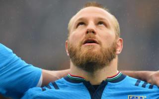 Giazzon replaces Ghiraldini in Italy squad