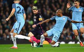 Fernandinho dismisses 'absurd' Messi claims
