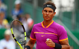 Ominous Nadal marches into Monte Carlo semi-finals