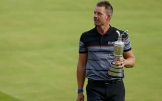 Stenson dedicates Open triumph to late friend