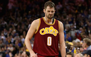 Cavs coach admits playing Love despite knee injury