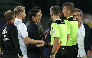 Montella feels AC Milan lacked courage