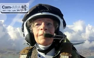 100-year-old woman flies Spitfire she flew during WW2
