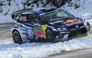 Ogier leads Rallye Monte-Carlo