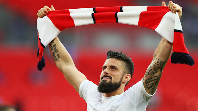 Arsenal striker Giroud dismisses Marseille link: 'My future is in the PL'