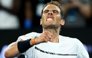 Nadal downs showman Monfils