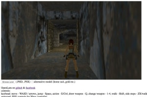 Revive las viejas aventuras de Tomb Raider directamente desde tu navegador