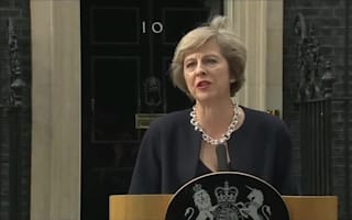 Theresa May promises to fight 'burning injustice'
