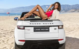 Bond's Naomie Harris reveals new Evoque Convertible in L.A