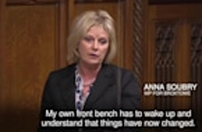 Government stance on Brexit 'nonsense' and Labour 'cowards', Anna Soubry says