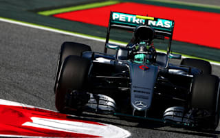 Rosberg hits the front, tyre trouble for Palmer in Spain