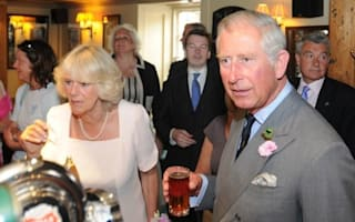 Charles and Camilla enjoy ice-cream and beer on holiday in Devon