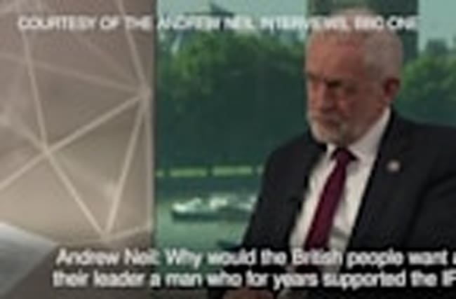 Jeremy Corbyn denies supporting IRA