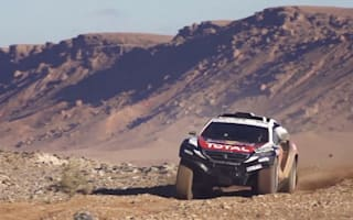 Video shows just how tough the Dakar Rally is