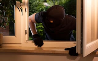 Nine out of 10 burglaries unsolved and 7% of stolen goods recovered