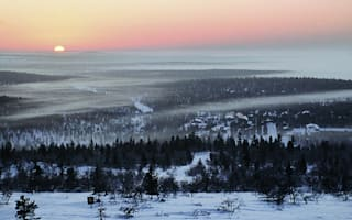 A date with Santa in Finnish Lapland