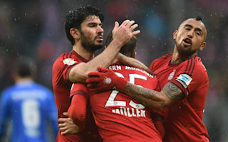 Bayern Munich 3 Darmstadt 1: Muller magic helps bail champions out