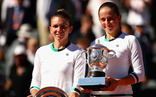 Gracious Halep hails shock French Open champion Ostapenko