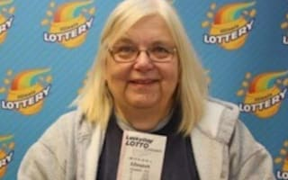 Retired teacher wins lottery on her birthday