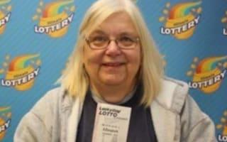 Retired teacher wins lottery on her birthday