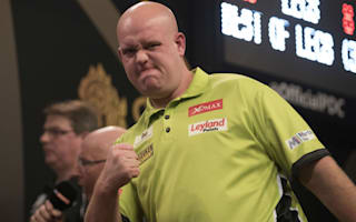 Van Gerwen cruises after Bunting bows out