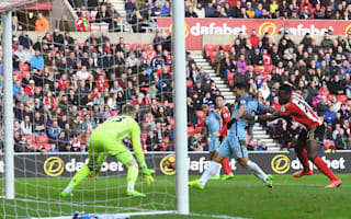 Sunderland 0 Manchester City 2: Aguero and Sane strike to keep title dreams alive
