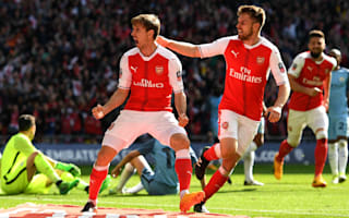 We've let him down - Ramsey wants FA Cup win to repay Wenger