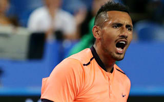 Kyrgios kicks off Marseille defence with win