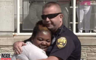 Police officer buys woman a new car after hers was totalled