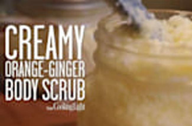Try Our Newest Obsession: Orange Ginger Body Scrub