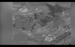 RAF bombs IS training base in Saddam Hussein's former palace