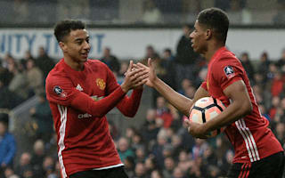 Lingard backs Rashford to fill Man Utd's Ibrahimovic void