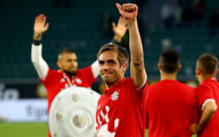 Lahm, Alonso promised special Bayern farewell after 'very emotional' final training session
