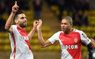 Mbappe hat-trick and Falcao double restore Monaco's Ligue 1 lead