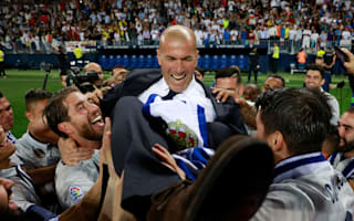 Zidane basks in 'happiest day' of career after winning LaLiga