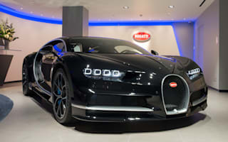 Bugatti opens overhauled London showroom
