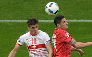 Sluggish Switzerland fail to convince, but Granit shows he's made of stern stuff