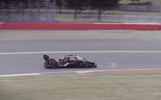 New driverless race car debuts
