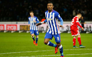 Kalou wants to make Hertha Berlin history
