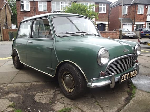 Auctioned Austin Mini Cooper S